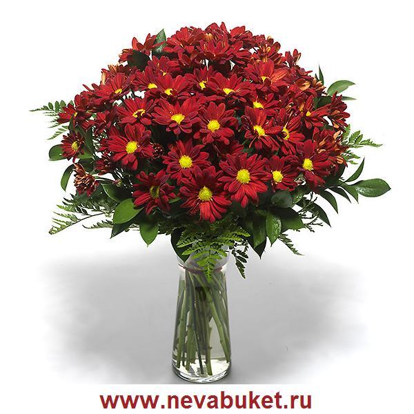 Строгие букеты цветов, магазин камелия курск